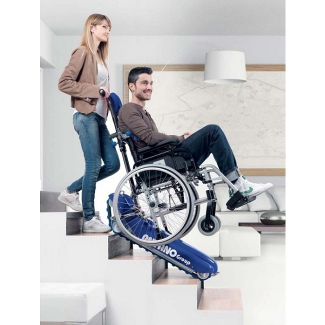 Portable Stair climber with tracks